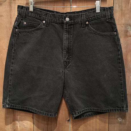 90's Levi's 550 Denim Shorts W : 36