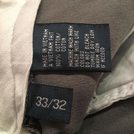 Polo Ralph Lauren Chino Pants GRAY W : 33