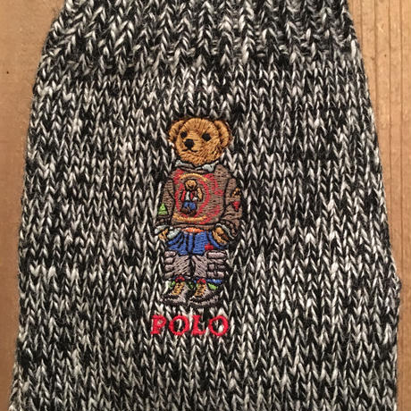 Polo Ralph Lauren Bear Gloves BLACK