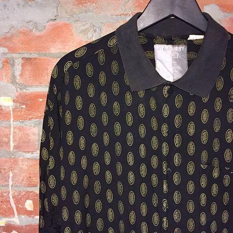 90's Rayon Design Shirt