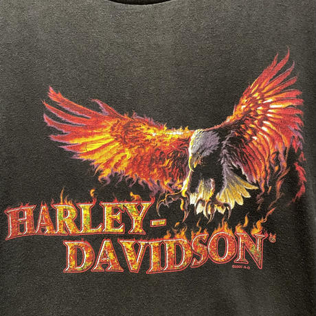 00's HARLEY-DAVIDSON Eagle Tee