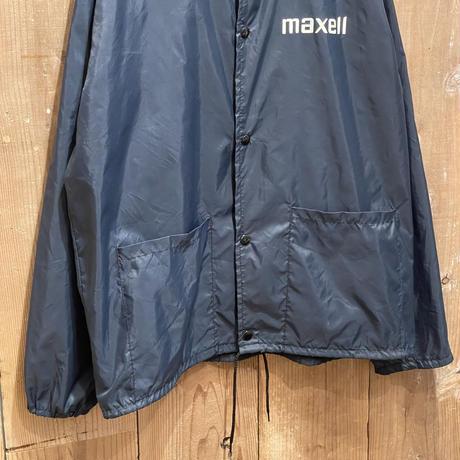 80's maxell Nylon Coach Jacket