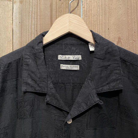Batik Bay Silk Open Collar Shirt