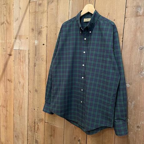 90's L.L.Bean Cotton/Poly B.D Shirt
