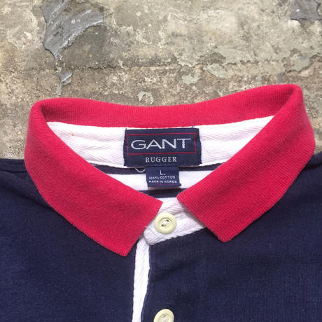 90's GANT RUGGER S/S Polo Shirt