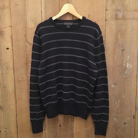Brooks Brothers Striped Merino Wool Sweater