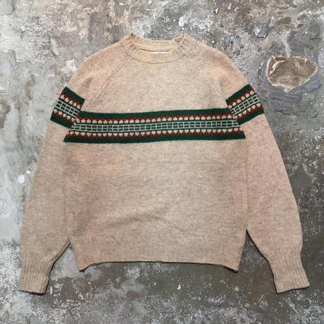 80's Redwood&Ross Shetland Wool Sweater