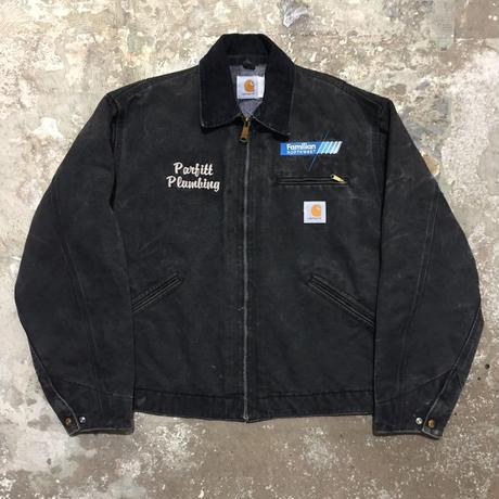 90's Carhartt Detroit Jacket BLACK