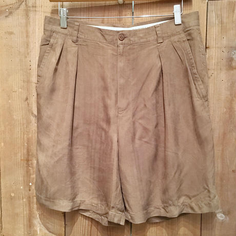 Tommy Bahama Silk Two Tuck  Shorts W 34