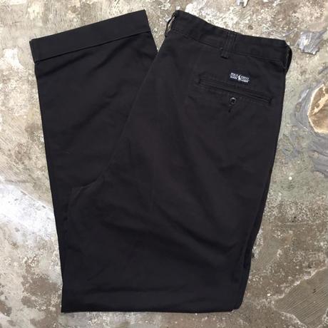 Polo Ralph Lauren Two Tuck Chino Pants BLACK W : 36