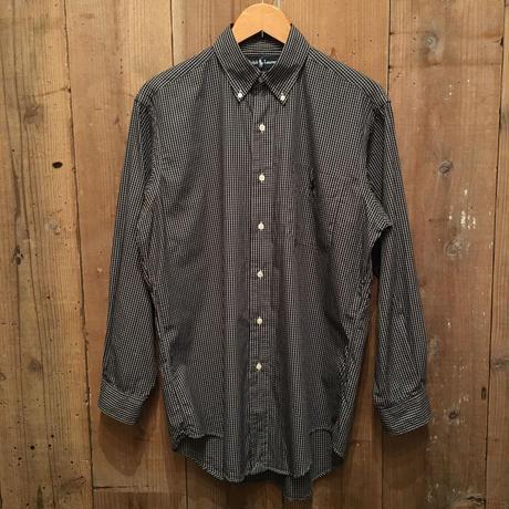 Ralph Lauren Black Plaid B.D Shirt