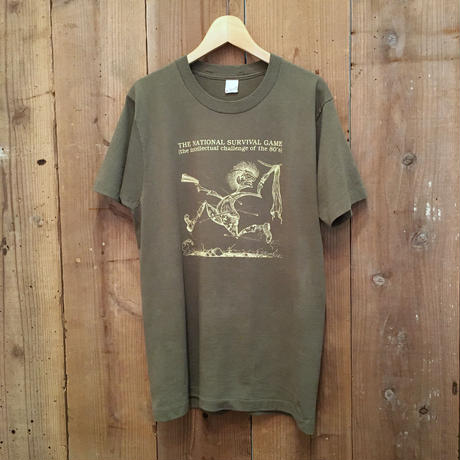 80's ~ SCREEN STARS Survival Game Tee