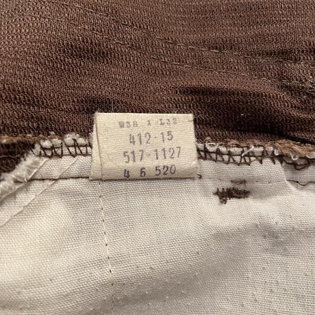 70's LEVI'S 517 STA-PREST Pique Pants  W 36