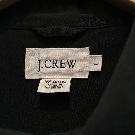 J.CREW Cotton B.D Shirt BLACK