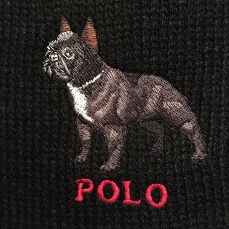 Polo Ralph Lauren French Bulldog Muffler