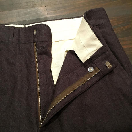 60's~ CORBIN Wool Flannel Slacks
