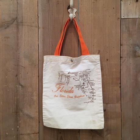 Florida Cotton Canvas Tote Bag