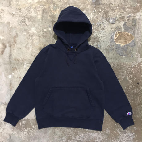 90's Champion Hooded Sweatshirt NAVY