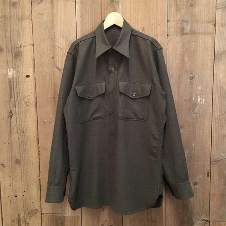 50's U.S. Military Wool Flannel Shirt
