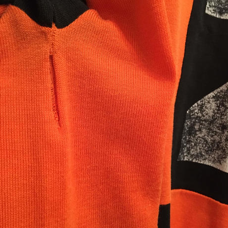 70's ATHLETIC KNITWEAR Rugby Jersey