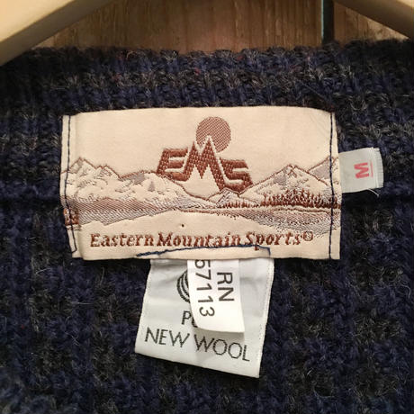 80's EMS Wool Sweater