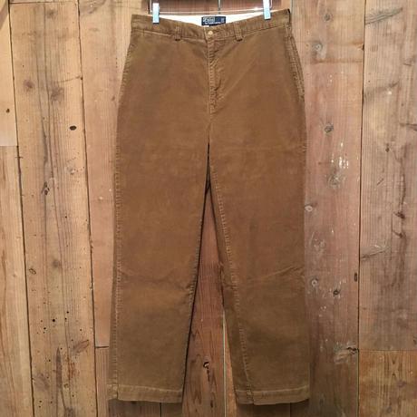 90's Polo Ralph Lauren Corduroy Pants TAN