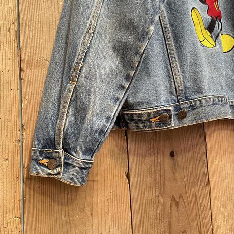90's MICKEY,INC Denim Jacket