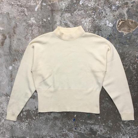 70's  MISS PENDLETON Mock Neck Wool Sweater