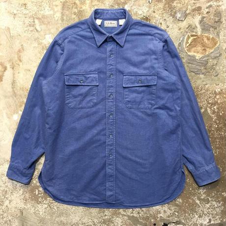 90's L.L.Bean Chamois Cloth Shirt