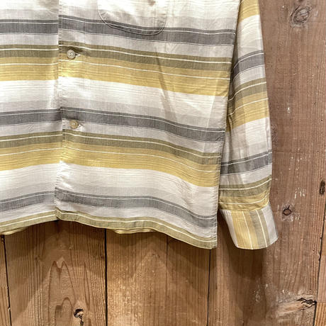 60's~ TOWNCRAFT  Italian Collar Shirt