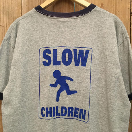 Slow Children Ringer  Tee