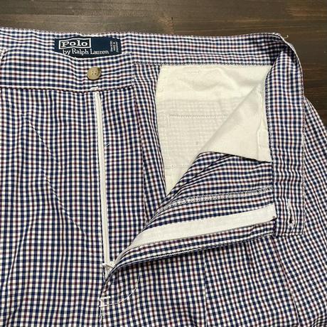 Polo Ralph Lauren Plaid Cotton Short NAVY W34