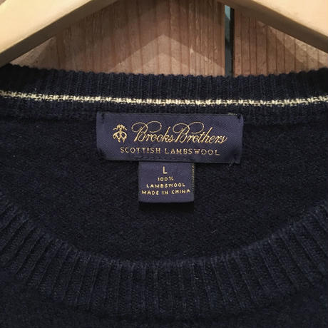 BROOKS BROTHERS Lambs Wool Sweater