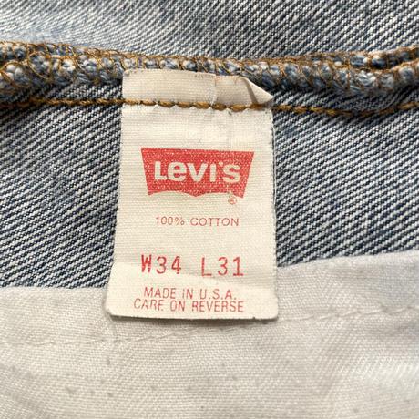 90's Levi's 501 Denim Pants W:34