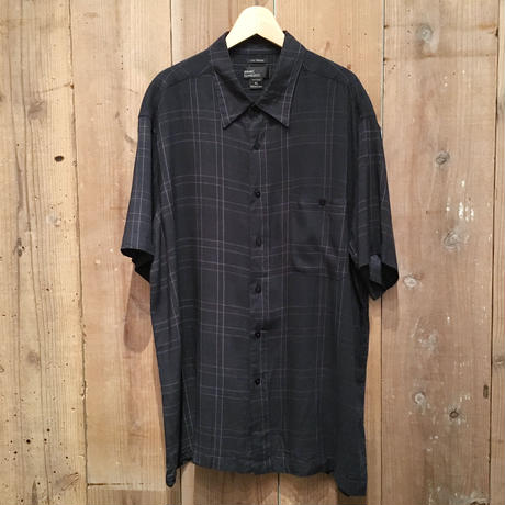 90's~ MARC EDWARDS Rayon Box Shirt