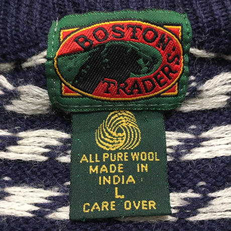 90's BOSTON TRADERS Wool Sweater