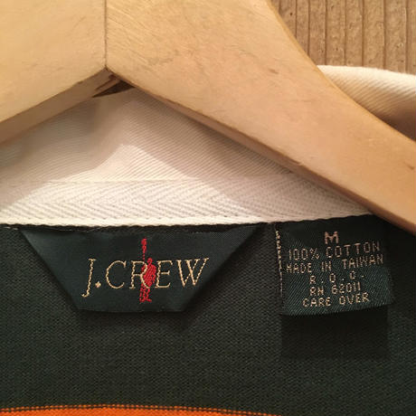 90's J.CREW  L/S Rugby Shirt