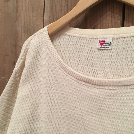 50's~ TOWNCRAFT Thermal Shirt