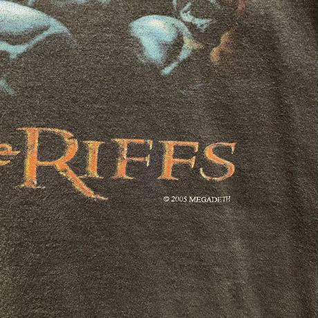 MEGADETH Load of the Riffs Tee