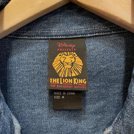 Disney The Lion King B.D Denim Shirt