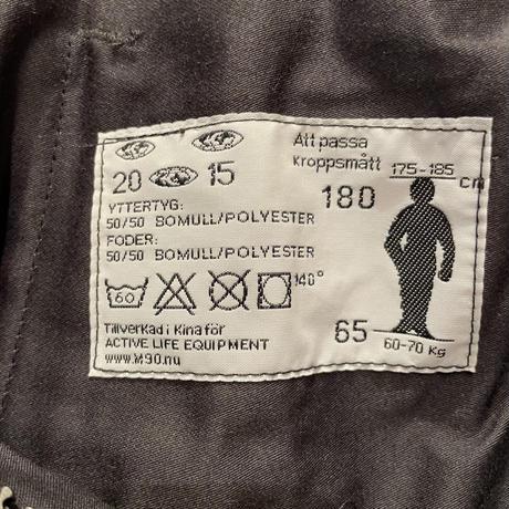 SWEDISH ARMY UF90 Tankers Pants