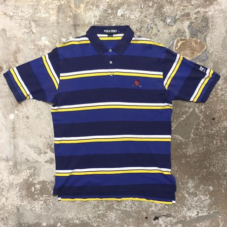 POLO GOLF Ralph Lauren Striped Poloshirt #19