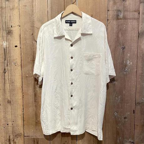 CLUB TANGO Silk Open Collar Shirt