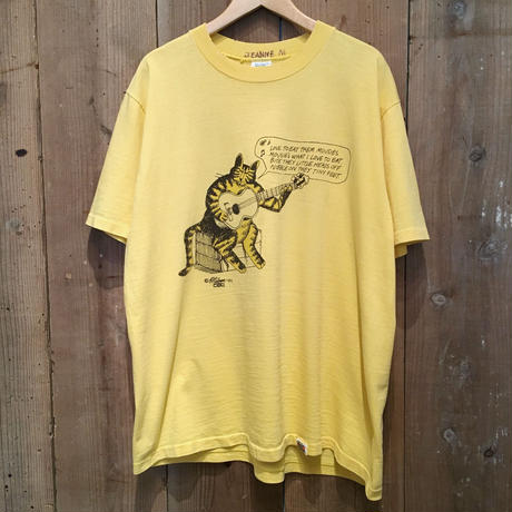70's crazy shirts Fishing Kliban Cat Tee