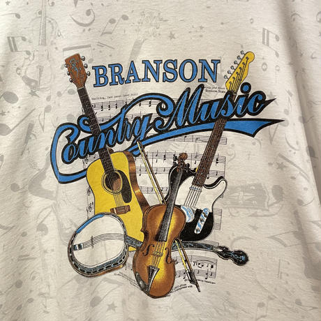 90's FRUIT OF THE LOOM Country Music Tee
