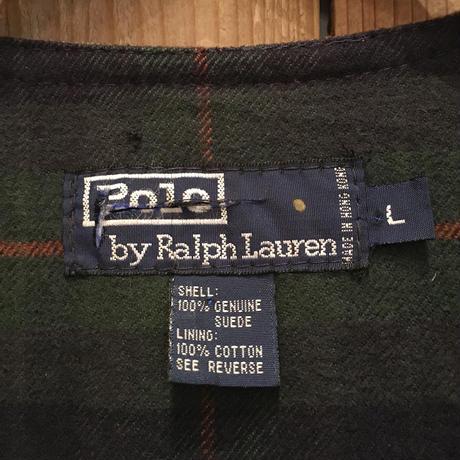 Polo Ralph Lauren Fishing Suede Vest