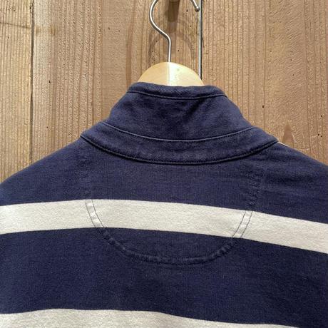 L.L.Bean Half Zip Rugby Shirt
