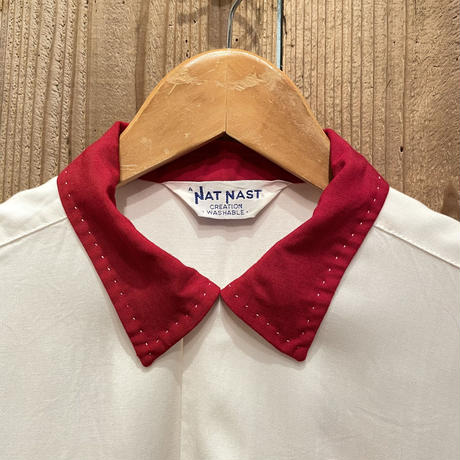 ~60's NAT NAST Rayon Bowling Shirt