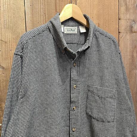 90's L.L.Bean Light Flannel Shirt