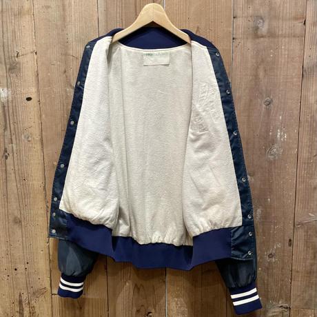 ~80's HOLLOWAY NY Yankees Nylon Varsity Jacket
